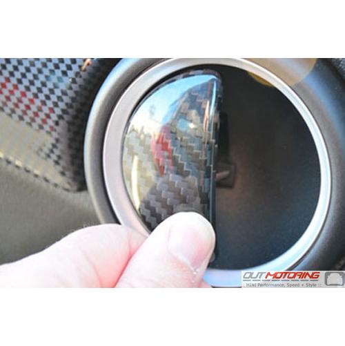 Door Latch Covers: Carbon Fiber: R56/7/8/9