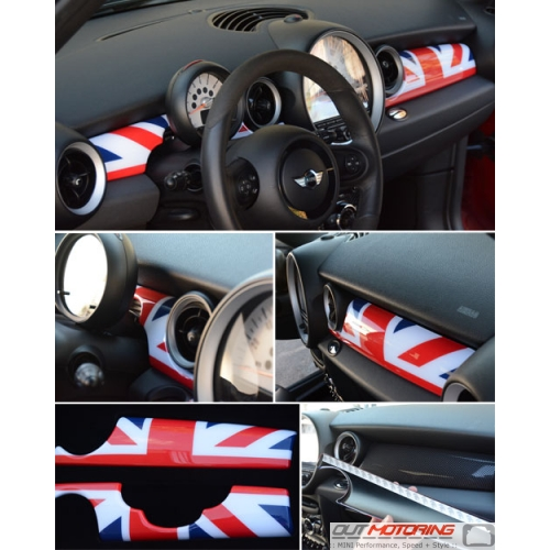 Dash Panel Covers: Gen2: Union Jack