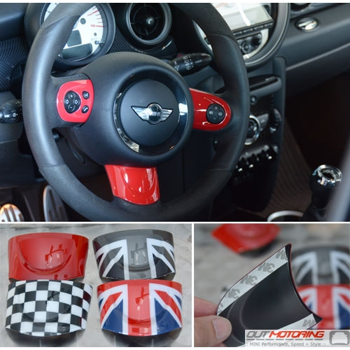 Steering Wheel Trim: Custom/Multi-Function: Gen 2
