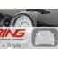 Carbon Fiber Speedometer + Vent Cover Set