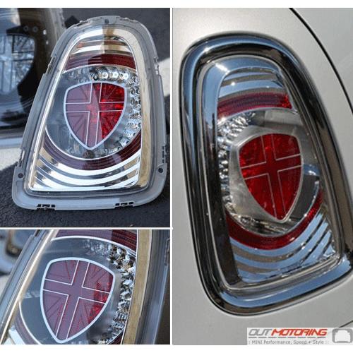 LED Rear Tail Lights: Clear: Gen 2: 11+