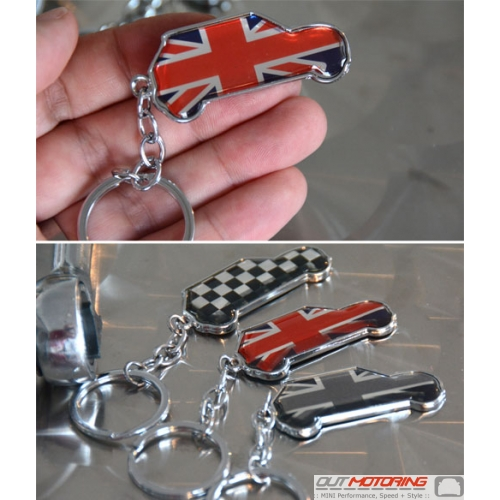 MINI Profile Keychain