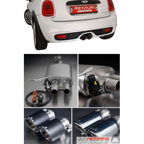 Remus Exhaust: Downpipe Back: Race: F56 S