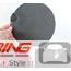 Flat Gas Door Cover: Carbon Fiber: R55/6