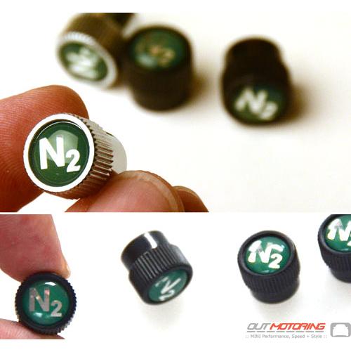 Valve Stem Covers: Nitrogen N2