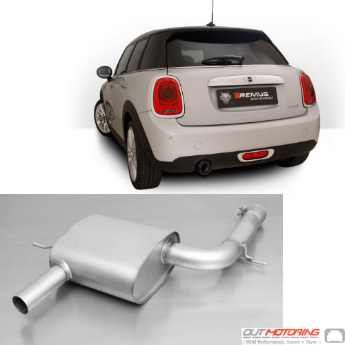 Remus Exhaust: Axle Back: F55