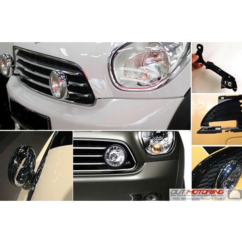 Driving Light Kit: Gen2: R60/61 Base Cooper