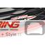JCW Grill w/ Red Slat: F55/6/7