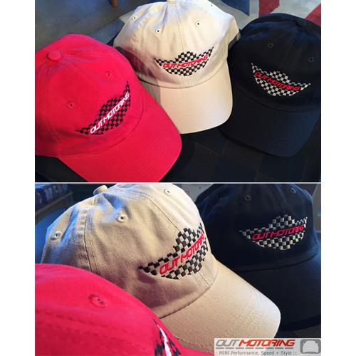 Out Motoring Wings Logo Hat