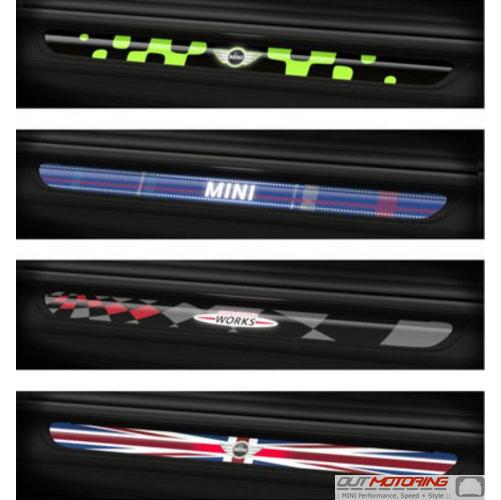 Mini Lighted Door Sills F56f57 Mini Cooper Accessories Mini