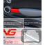 Door Grab Bar Covers: Gen2: Red