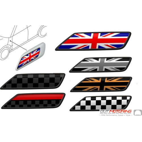 Replacement Mini Cooper Clubman F54 Side Scuttle Marker Inserts