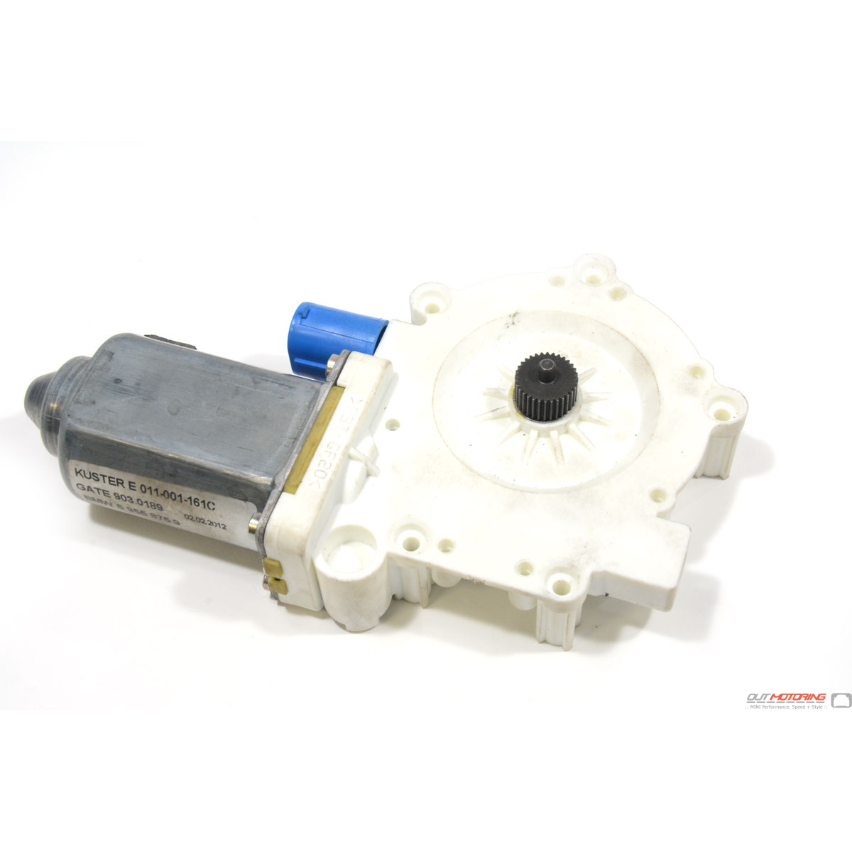 Mini cooper replacement driver side power window motor for Electric window motor repair