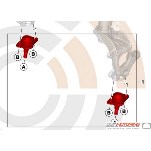 Control Arm Ball Joint Set