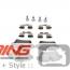 Brake Pads: Rear: R55/6/7/8/9