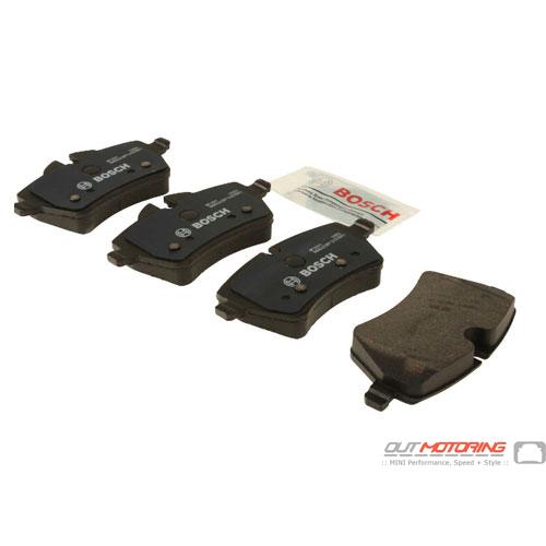 Brake Pads: Front: R55/6/7/8/9: Bosch