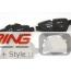 Brake Pads: Rear: R60/61