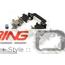 Brake Pads: Front: R60/61