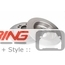Brake Rotors: OEM: Rear
