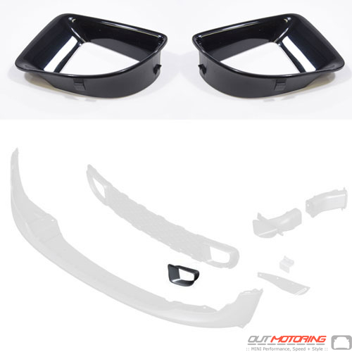 Brake Duct Set: Black