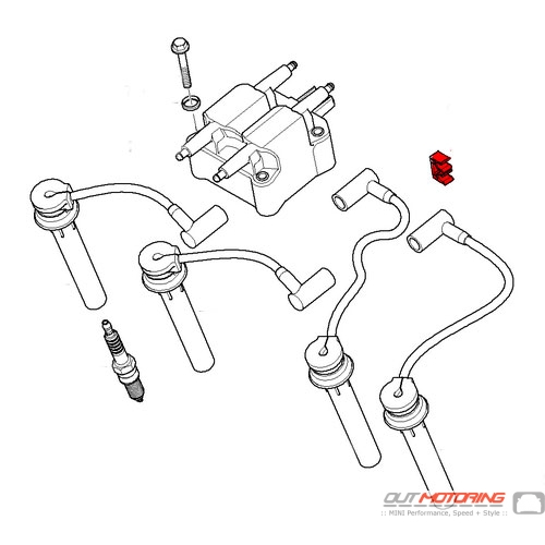07131487247 MINI Ignition Wire Lead Clip - MINI Cooper Accessories on spark plugs for toyota corolla, ford ranger spark plug diagram, spark plugs yamaha venture 1200, spark plug plug, spark plug bmw, honda spark plugs diagram, spark plug operation, small engine cylinder head diagram, 2003 ford f150 spark plug numbering diagram, spark plug fuse, 1998 f150 spark plugs diagram, 2000 camry spark plug diagram, 1999 gmc denali spark plug diagram, spark plug relay, spark plug valve, spark plug battery, spark plug wire, ford expedition spark plug diagram, spark plug index, spark plug solenoid,