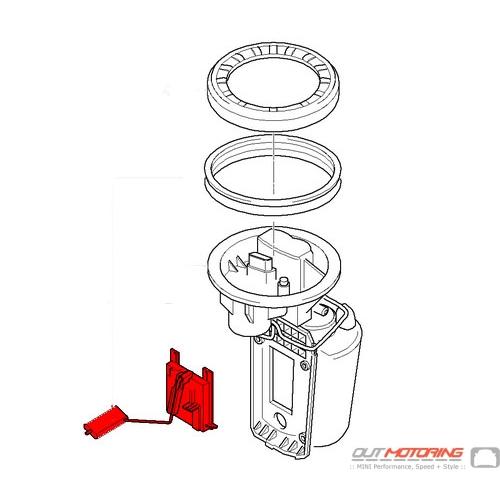 16146766178 16146765127 MINI Cooper Fuel Gas Level Sensor ...