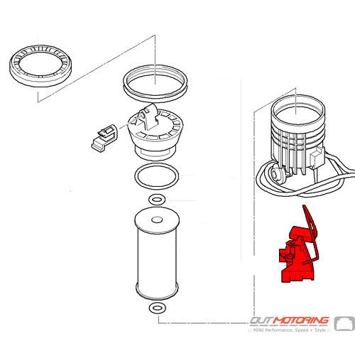 16146765134 16146762082 mini cooper fuel gas level sensor