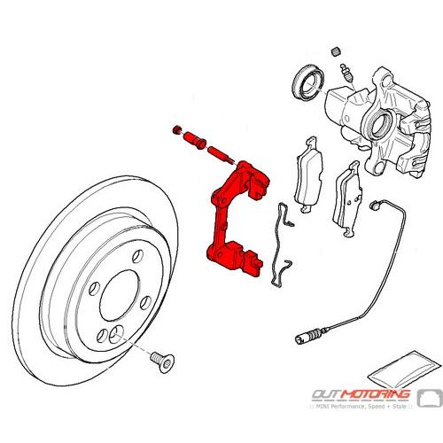Brake Carrier: Rear