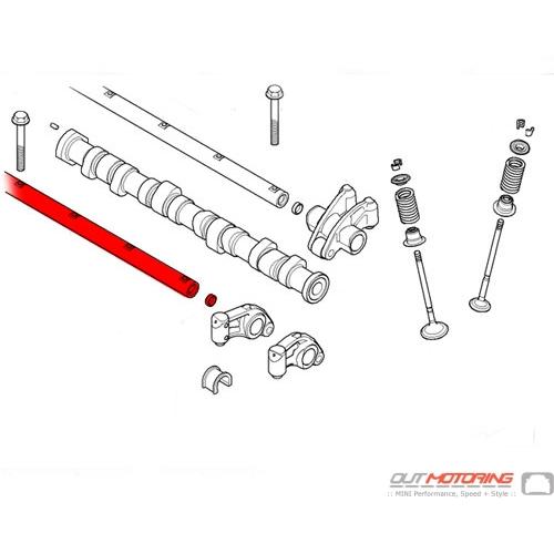 Rocker Arm Axle: Intake Side
