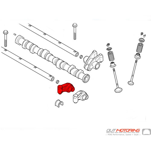Rocker Arm: Intake: Right