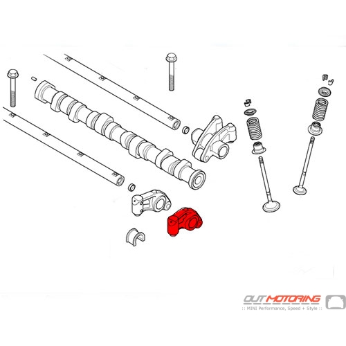 Rocker Arm: Intake: Left
