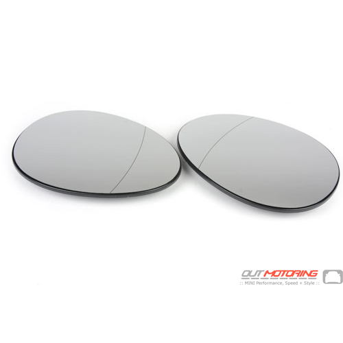 MINI Cooper Blind Spot Side Convex Mirrors Replacement