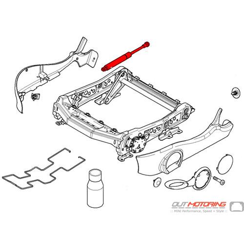Seat Adjuster Hydraulic Piston