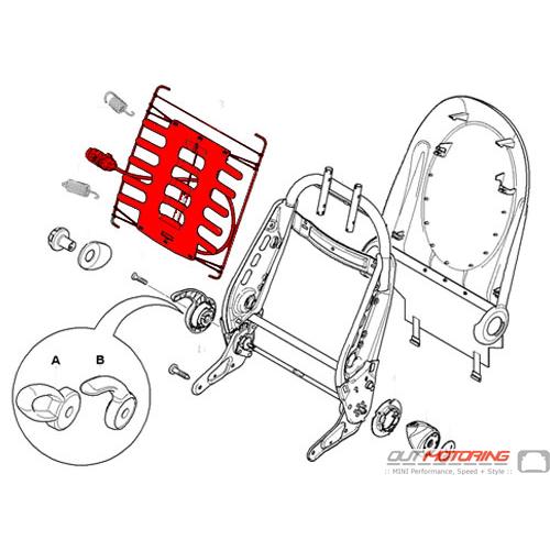 Seat Back Spring Mat: Lumbar
