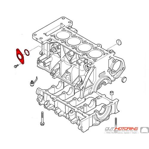 cover plate: engine block