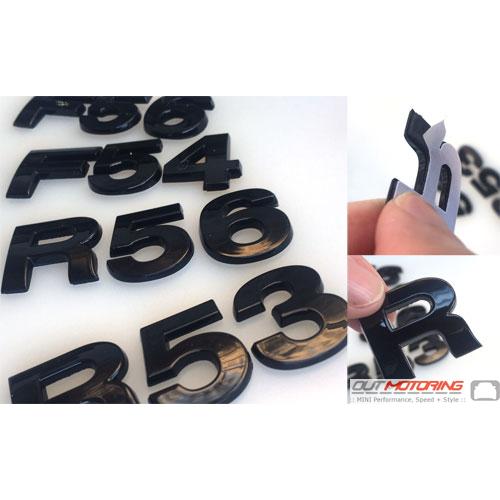 R50 R52 R53 R55 R56 R57 R58 R59 R60 R61 F54 F55 F56 F57 Gloss Black
