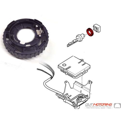 63126934755 Mini Cooper R50 R52 R53 Front Headlight Xenon Bulb