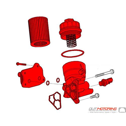 Oil Filter Housing Kit w/ Heat Exchanger: Manual