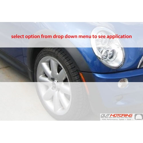 Wheel Arch Trim: R50/2/3
