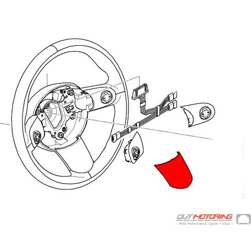Steering Wheel Trim: Lower