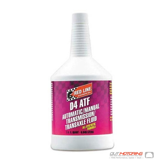 All Synthetic Automatic Transmission D4 ATF Oil: 30504