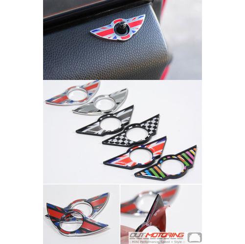 Wings Door Lock Trim: R60/61