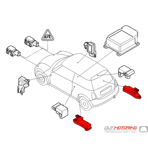 Impact Sensor Side Airbag: Mini Cooper Engine Diagram Sensor At Hrqsolutions.co