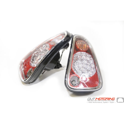 LED Rear Tail Lights: Red: R50/2/3