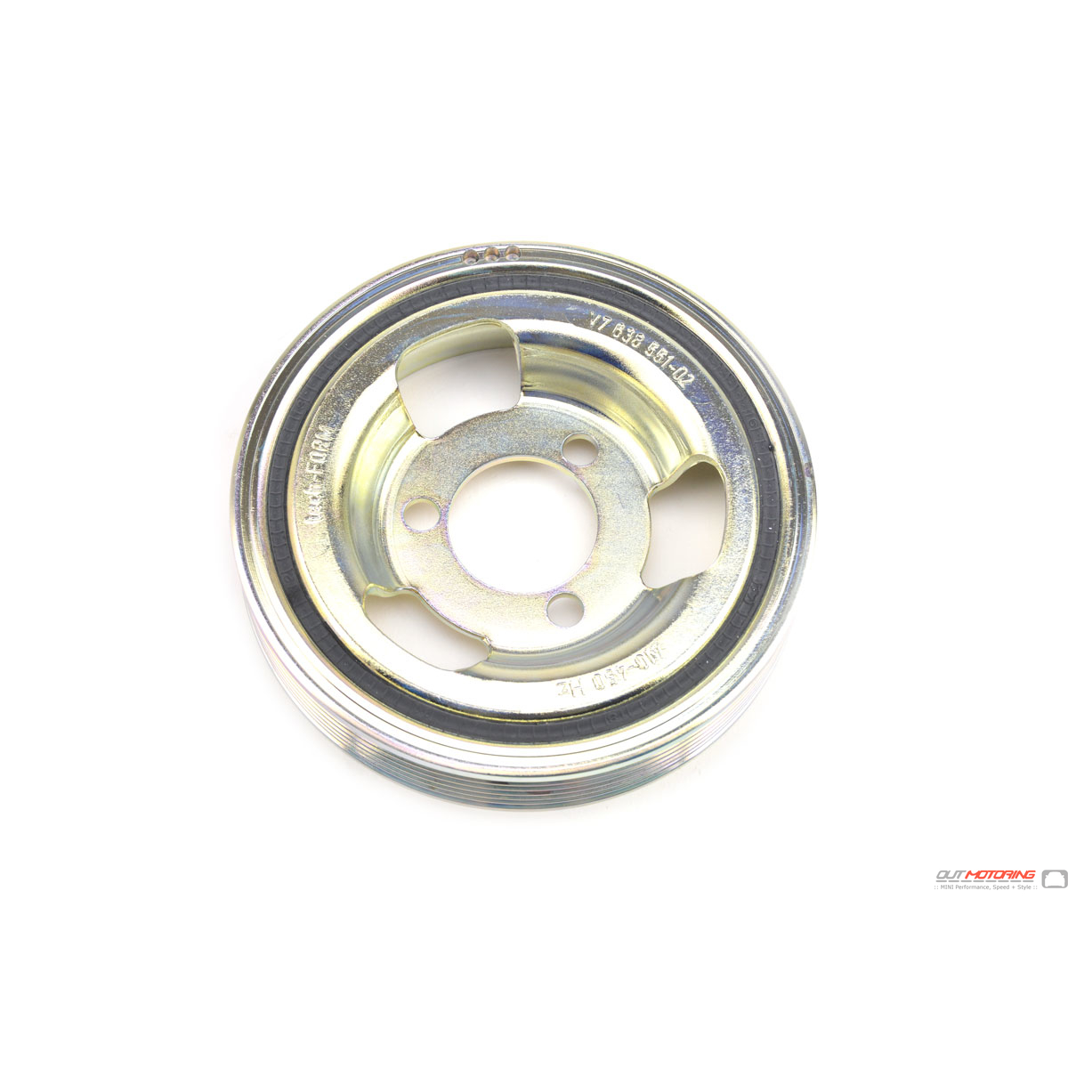 11237638551 Dampened MINI Cooper Crank Pulley