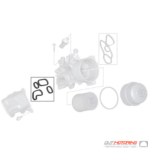 Gasket Set: Heat Exchanger