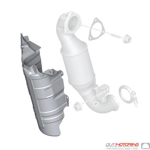 Catalytic Converter Heat Resistant Plate