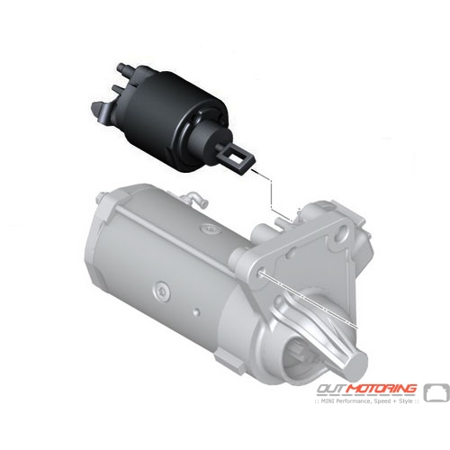 Replacement MINI Cooper Starter Solenoid Switch 12417567789