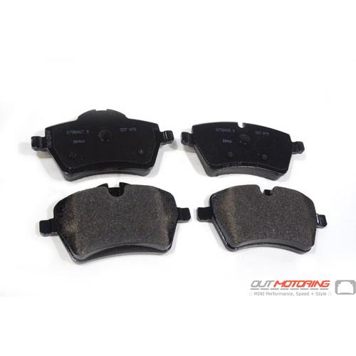 Brake Pads: Front: R55/6/7/8/9: S-Model