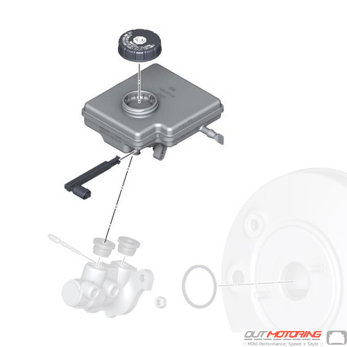 Expansion Tank W/ Warning Switch & Lid